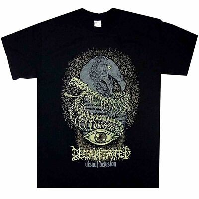 Decapitated Visual Delusion T-shirts Tee size M-3XL US 100% cotton trend 2019