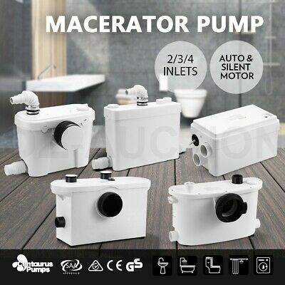 Macerator Sewerage Pump Waste Water Marine Unit Laundry Toilet Disposal Bathroom