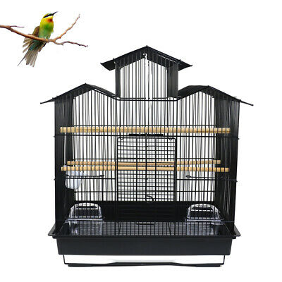 Bird Cage Finch Parakeet Canary Budgie Small Bird Flight Travel Cage Roof Top AU