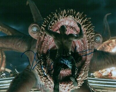 Dave Bautista Actor Guardians Of The Galaxy Signed 8x10 Autographed Photo COA 3