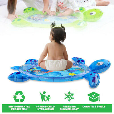 Inflatable Tummy Time Water Mat Lenbest Turtle Tummy Inflatable Premium Baby