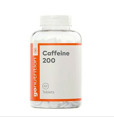 GoNutrition Caffeine Tablets 200mg Weight Loss Diet Aid Slimming Fat Burners 60