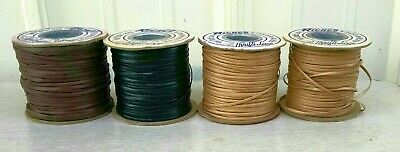 4 Rolls Richco Thrifti-lace Vinyl Plastic Lace No Crack No Peel No Stretch