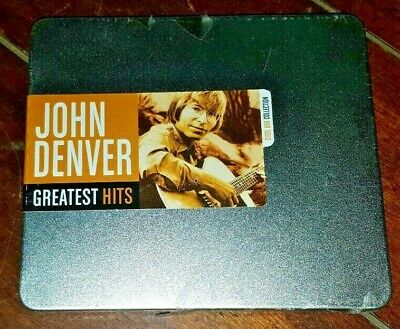 Greatest Hits [Steel Box] Collection by John Denver (CD, 2008) Free Shipping!