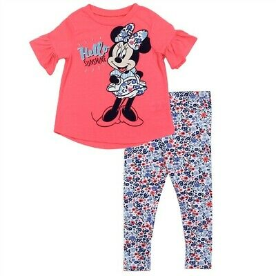 Disney Junior Minnie Two Piece with extra t-shirt. Just in from L.A. size 2yrs.