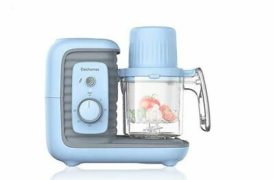 Elechomes Baby Food Maker Processor, Double Steam Basket Cooker with Timer