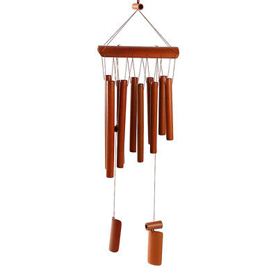 """TROPICAL FISH Wood /& Bamboo Ring 35/"""" Long WIND CHIME ~ WOODSTOCK CHIMES #CRBE608"""