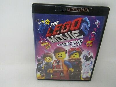 THE LEGO MOVIE: second part 4K ULTRA HD + BLU-RAY 2-MOVIE 4-DISC SET