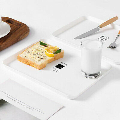 Fast Food DisplayTray Plastic Lunch Restaurant Cafe Bar Coffee Drink Snack Plate