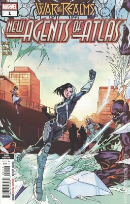 War of the Realms New Agents of Atlas (Marvel) 1G 2019 VF Stock Image