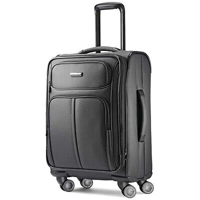 Samsonite Leverage LTE Spinner 20 Carry-On Luggage, Charcoal - 91997-1174