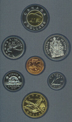 Canada 1997 Specimen Mint Set 10th Anniversary Flying Loon COA Original Package
