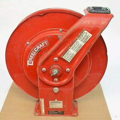Reelcraft TW7450 OLPT Spring Retractable Gas Welding Hose Reel *No Hose*