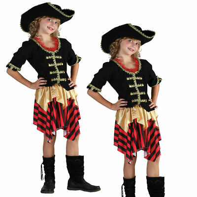 Pirate Girl #Buccaneer Sweetie Caribbean Cabin Girl Halloween Fancy Dress