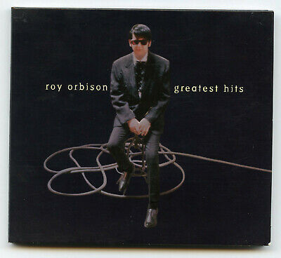 Roy Orbison In Dreams The Greatest Hits CD Embossed Cover