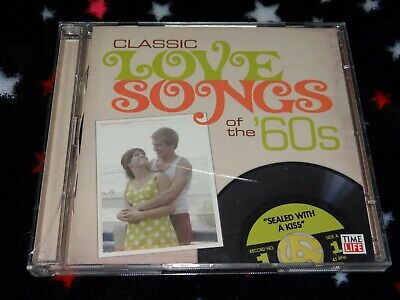 TIME LIFE CLASSIC Love Songs of The 60s (OOP 2-Disc CD Set) Oldies Soul R&B  Rock