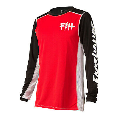 Fasthouse Bolt Mens Jersey Moto - Red All Sizes