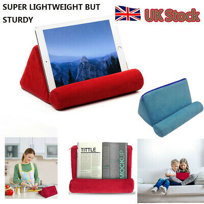 Tablet Pillow Holder Stand Foam Book Rest Reading bed Support Cushion For iPad