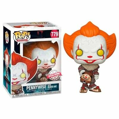 Figura Funko POP PENNYWISE GORRA CASTOR 779 It Chapter 2 SPECIAL EDITION