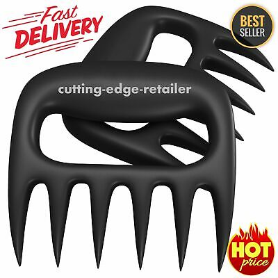 BBQ Meat Claws Pulled Pork Shredder Carving Accessorie Forks B2S8 Q1H6