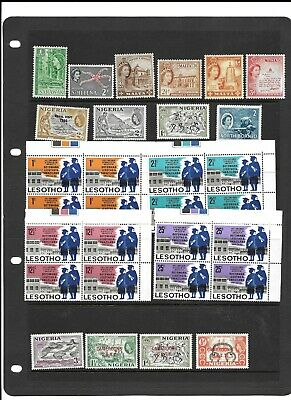 QE2 collection mnh and m/mint