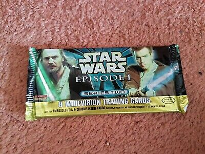 Star Wars Episode 1 Series 2 Unopened Trading Cards