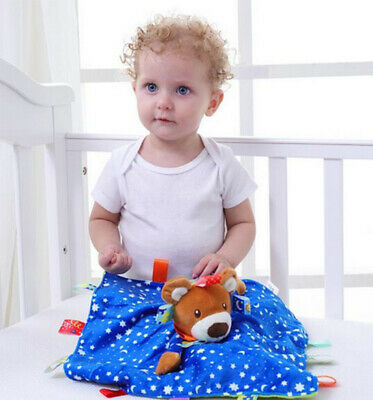 Baby Comfort Security Blanket Towel Appeasing Calming Sleeping Blanket