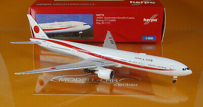Neu Herpa 532778-1//500 Japan Air Self Defence Force Boeing 777-300ER