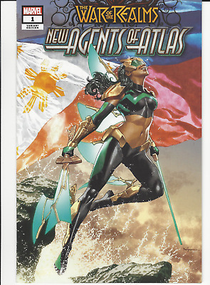 War of Realms: Agents of Atlas #1 1st App WAVE Mico Suayan Trade (only 3000) NM