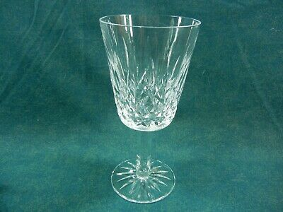 "Waterford Cut Crystal Lismore Pattern 6 7/8"" Tall Water Goblet(s)"