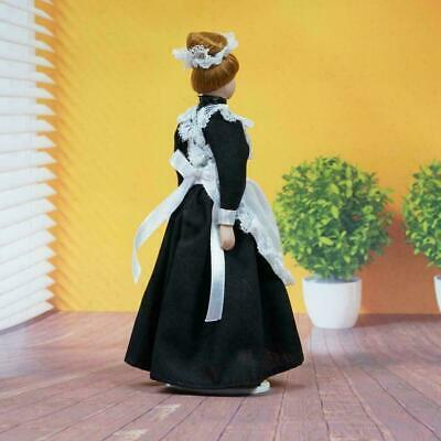 4 Character 15cm 1:12 Dollhouse Miniature Mini Doll Crafts Gifts z Model U5H6