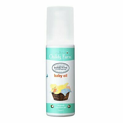 Childs Farm baby oil organic coconut 75ml FREE DELIVERY