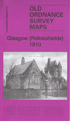 GLASGOW (Pollokshields) 1910, Old Ordnance Survey Map, Lanarkshire Sheet 6.14