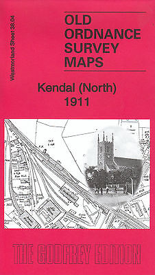 KENDAL (North) 1911, Old Ordnance Survey Map, Westmorland Sheet 38.04