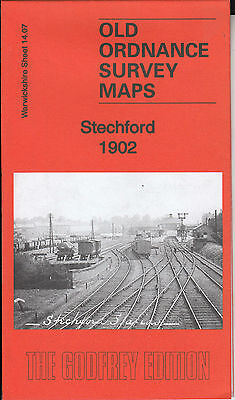 STECHFORD 1902, Birmingham, Old Ordnance Survey Map, Warwickshire Sheet 14.07