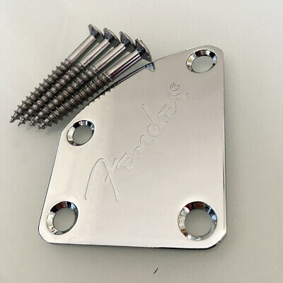 Electric Guitar Accessory Neck Plate For Strat/Tele Guita Bass Neck Joint Board
