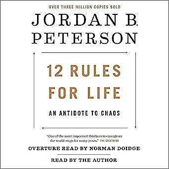 12 Rules for Life: An Antidote to Chaos- Audiobook - NO CD