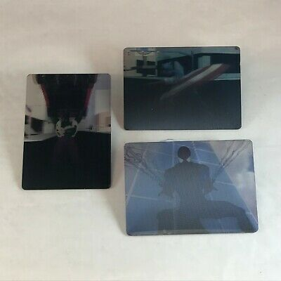 MARVEL MOTION Fleer Skybox 1996 VIRTUAL VISION Plastic Chase Card LOT of 3 DIFF