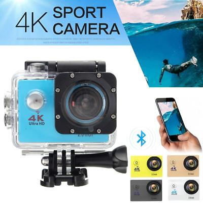 "4K Ultra SJ9000 Wifi Sport Action Camera 2.0"" DV 1080P HD Cam DVR Waterproof DA"
