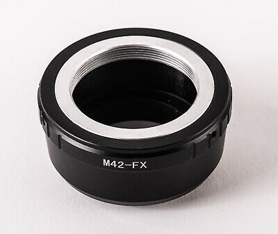 Lens Mount Adapter for M42 Mount Lens to Fujifilm X-Series Cameras with allenkey