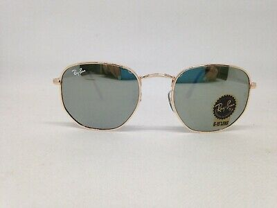 78a855ca58 RAY-BAN RB3557 SQUARE Sunglasses Classic Green Lens/Gold Frame 54mm ...