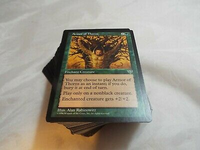 Magic The Gathering, Mtg Complete Set Of Mirage Commons, 110 Cards