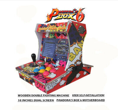 New Pandora Box 6 1300 in 1 Retro Video Games Double Stick Arcade Console