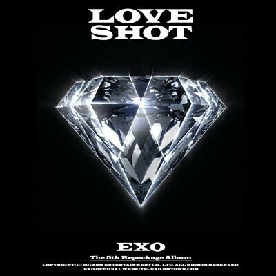 EXO: Love Shot: Repackage* Full Package Poster (CD, SM) K-POP