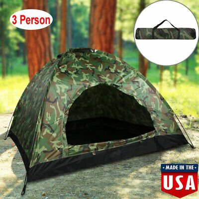 Rugged Exposure Prospector Three Person Dome Tent Camping