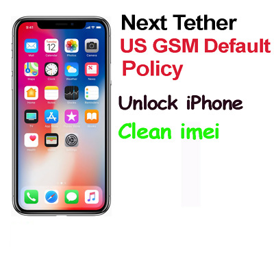 US GSM Default Policy 51/52 iPhone 4 5 5s 6 6s 6+ 6s+ 7 7+ 8 8+ X Unlock Service