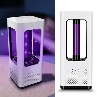UK Electric Fly Bug Zapper Mosquito Insect Killer LED UV Light Trap Lamp Catcher