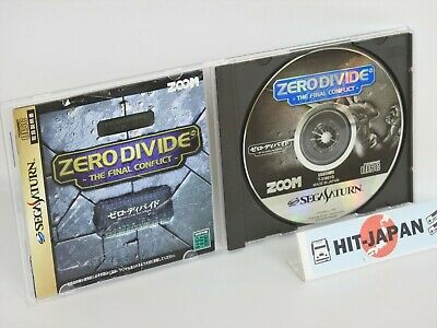 Sega Saturn ZERO DIVIDE the Final Conflict Ref/297 Japan Game ss