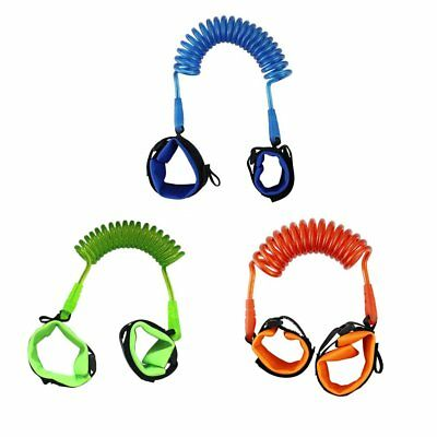 Adjustable Harness Leash Strap Kids Safety Anti Lost Wrist Link Band Strap 8w
