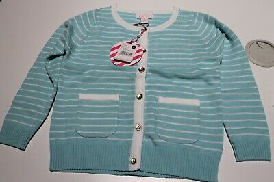 New Pumpkin Patch Girls Aqua Blue Cotton Cardigan Size 1,2,3,4,5,6,7,8  $29.99